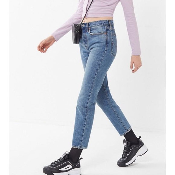 eab0faba7ed ✨NWT Levi s Wedgie Icon Fit High Waist Ankle Jeans
